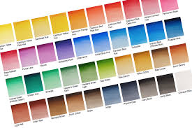 A Guide To Buying Watercolour Paints Colours Arttutor