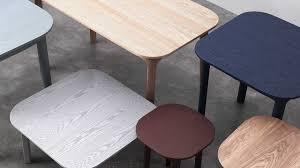 Tab Tables and Stools (2016) \u2013 Jonas Wagell Design \u0026 Architecture