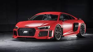 red audi r8 wallpaper. Interesting Wallpaper Red ABT Audi R8 2017 Wallpaper Intended V