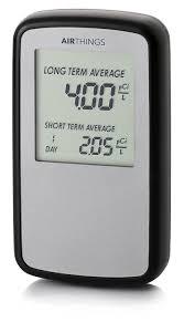 airthings coium home radon gas detector
