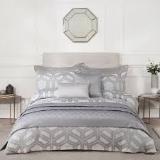 james silver geometric duvet cover