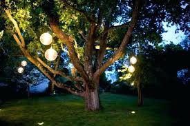 outdoor tree lighting ideas. Light Balls For Trees Hanging Tree Lights Orb Lighting Ideas Outdoor S