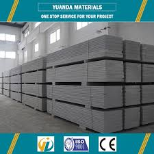 manufacturer of lightweight foaming concrete partition wall alc panel