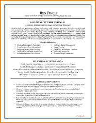 7 Hospitality Resume Template Professional Resume List