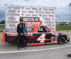 Buckeye Cable Systems Arca Truck Series Myers Wins Soggy Buckeye Cable Systems 50