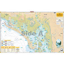 Estero Bay Depth Chart Estero Bay Inshore Fishing Chart