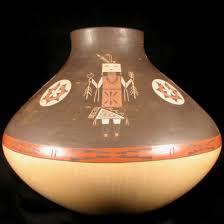 Navajo pottery designs Ancient Tohatin Gallery Polychrome Jar Navajo Pottery Ida Sahmie Cpotjob1501