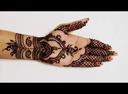 Beautiful Simple Mehendi Mehndi Design On Front Of Hand Diwali