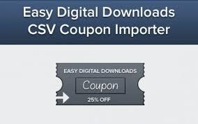 Nulled Easy Digital Downloads Coupon Importer V1 1 2