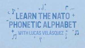 The international phonetic alphabet (ipa). Learn The Nato Phonetic Alphabet With Lucas Velasquez Youtube