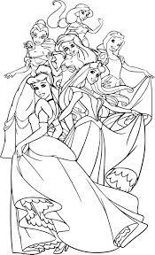 Coloriage Princesse Disney Imprimer Sur Coloriages Info