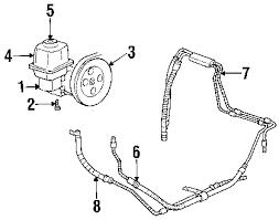 parts com® gmc hose partnumber 26087520 2007 gmc envoy sle l6 4 2 liter gas p s pump hoses