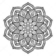 25 Printen Mandala Kleurplaten Bloemen Mandala Kleurplaat Voor