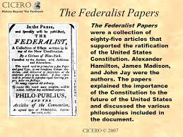 The Federalist Papers  No       Tara Ross Lesson Federalists vs Anti Federalists SlidePlayer