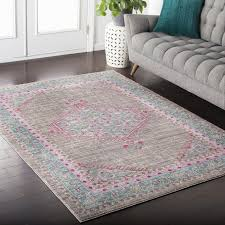 home decor amusing pink rugs for nursery to complete lovely and within pink rugs for