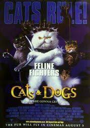 cats and dogs movie poster. Beautiful And Cat Movie Poster  Cats U0026 Dogs Movie Poster 2  Internet  Awards For And Z