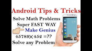 android tips tricks in hindi best android app solve math problems fast easy