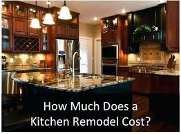 How Much Kitchen Remodel Unique Decorating