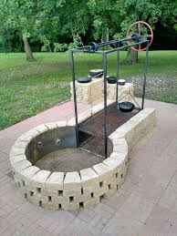 patio with fire pit and grill. Exellent Fire 649 Best Stoves Grills Fire Pits Images On Pinterest Garden Braai Pit  Designs With For Patio And Grill
