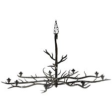 handmade tree branch chandelier steel for