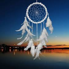 Dream Catchers Purpose Home Large White Pink Color Dream Catcher Traditional Style 65