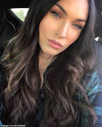 smooth skin megan fox appeared wrinkle free in her insram selfie on thursday
