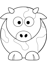 Small Picture Cool Cow Coloring Pages Cool Gallery Coloring 1354 Unknown