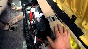 where is the battery located in a buick