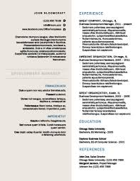 Formal Resume Template Enchanting Modern Resume Templates [28 Examples Free Download]