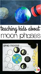 Phases Of The Moon Chart For Kids Oreo Moon Phases The Stem Laboratory