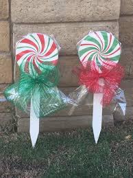 Lowes Lollipop Lights Christmas Lollipops Yard Art Christmas Yard Art Christmas