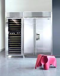 sub zero refrigerators 48 inch subzero built in refrigerator sub zero side by built in refrigerator freezer and wine storage small kitchenaid 48
