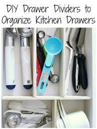 Diy Kitchen Drawer Dividers Kitchen Archives Frazzled Joy