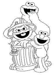 Cookie Monster Coloring Book Cookie Monster Coloring Sheet Cookie