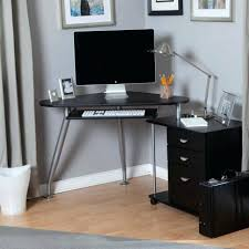 large computer desk white glass ikea for 2 monitors with drawers