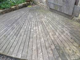 Terrasse Pin Avant Nettoyage Ns Bois I Agencement Bois Saint Malo