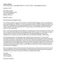 Cover Letter For Real Estate Paralegal Job Paulkmaloney Com