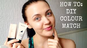 How To Colour Match Foundation Makeup For Beginners