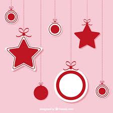 hanging christmas ornaments vector. Contemporary Vector Christmas Hanging Ornaments Free Vector In Hanging Ornaments N