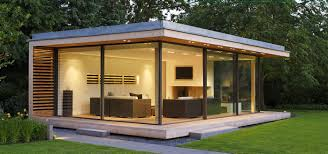 Small Picture Garden Room Design Wonderful Contemporary Built On A Strict Budget