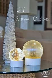 diy snow globes title