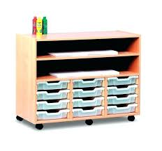 art supply storage shelf studio shelves racks large with trays and 2 clear sh castors 1
