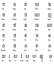 Khmer Alphabet Letters Related Keywords Suggestions