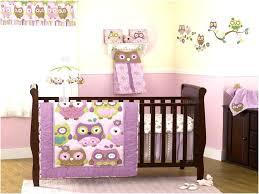 image of purple crib bedding sets