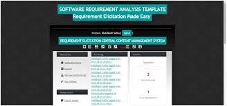 Automation Of Requirement Analysis In Software Engineering