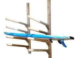 3 place sup rack wall mount kayak