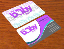 Entry 156 By Alamgirsha3411 For Baby Shop Business Cards Freelancer