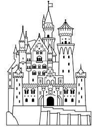 Disegno Di Castello Di Neuschwanstein Da Colorare Disegni Da