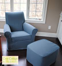 chair and ottoman slipcover