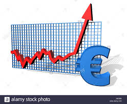 Chart Currency Euro Europe Growth Savings Graph Money